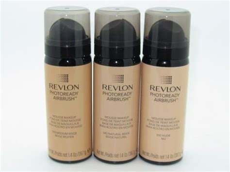 Revlon Photoready Airbrush revlon photoready airbrush mousse makeup reviews photos