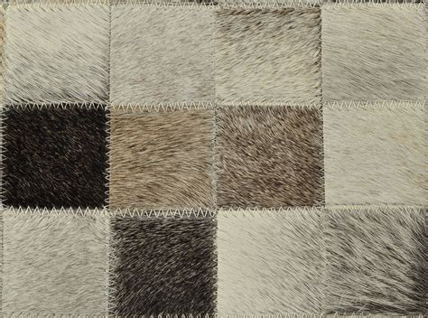 kuhfell teppich kuhfell teppich mix grau 200 x 300 cm patchwork