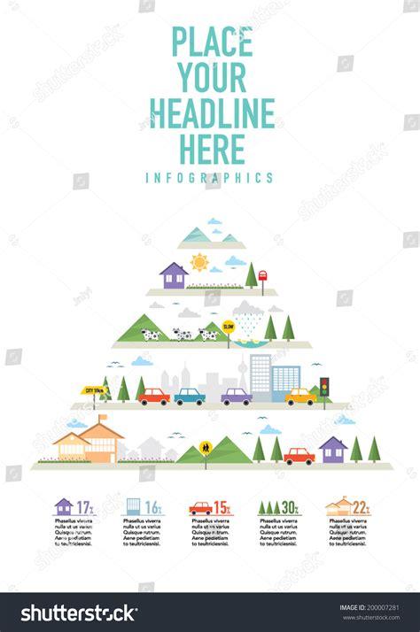 graphic design layout diagrams ecosystem info graphic icon set diagram stock vector