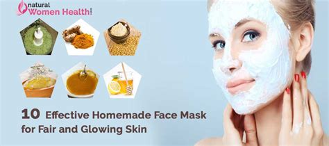 diy mask for glowing skin pack recipes