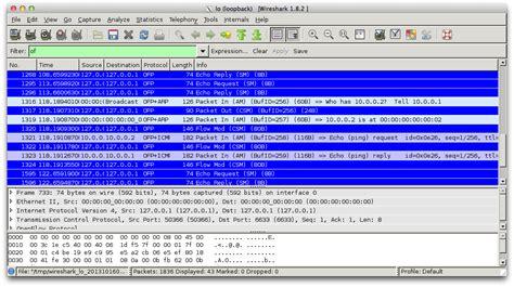 wireshark tutorial bandwidth openflow チュートリアル on osx かないノート