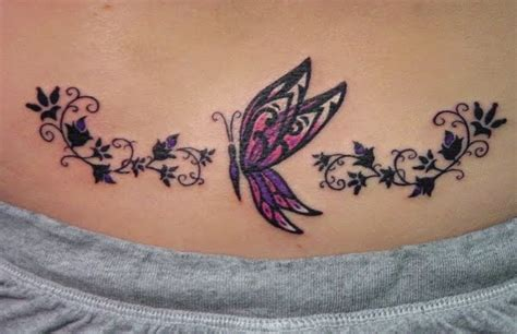 lower back tattoo video indiana tattoos butterfly lower back tattoo design