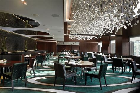 Restaurant Chandelier Luxury Restaurant Chandeliers Design The Mira Hotels Zeospot Food Courts For Cottage