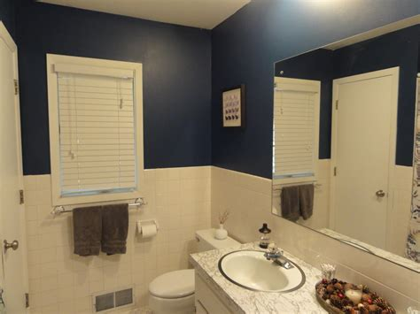 painted bathroom half assed crafter diy painted bathrooms