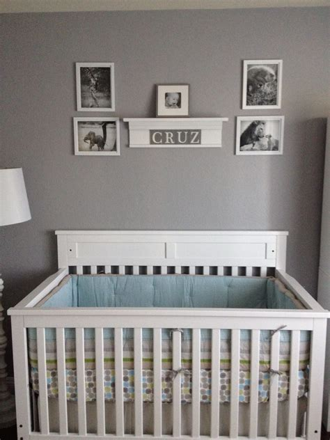 baby boy crib crisp clean nursery for my baby project nursery