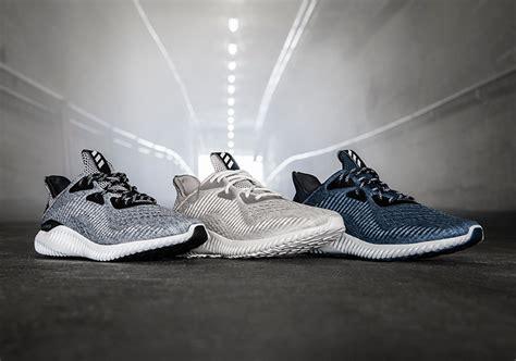 Adidas Alphabounce Engineered Mesh Grey Premium adidas alphabounce engineered mesh release date