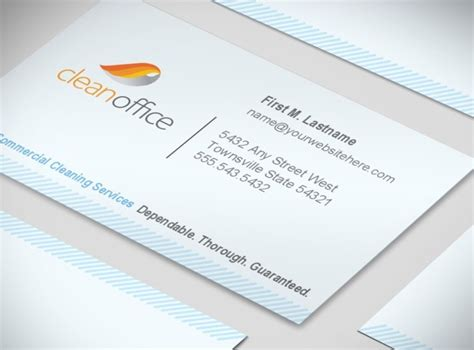 commercial cleaning business cards templates commercial cleaning services business cards