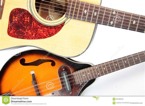 country style guitar acoustic guitar and mandolin stock photography image