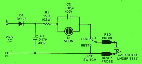 test capacitor well capacitance meter circuit diagram speed meter circuit diagram elsavadorla