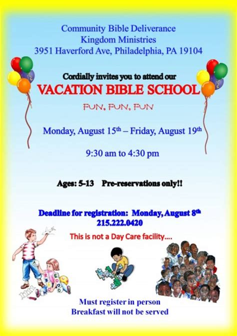 vacation bible school certificate templates vacation bible school mission possibl with church flyer
