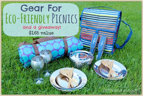 Picnic Basket Giveaway - eco friendly picnic gear your next sustainable change