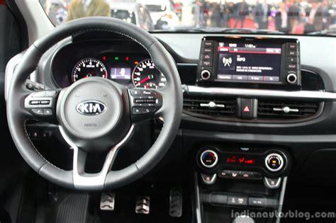 Interior Kia Picanto 2017 Kia Picanto Interior At The Geneva Motor Show Live