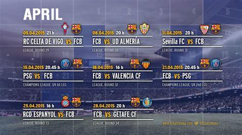 barcelona jadwal pertandingan barcelona dinanti jadwal padat di bulan april merdeka com