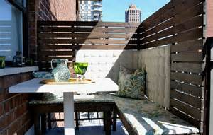 apartment patio screens get the best balcony privacy screen homestylediary