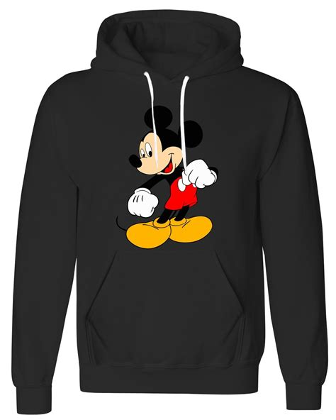 Sweatshirt Micky Mouse Comic disney mickey mouse fleece hoodie mens womens classic
