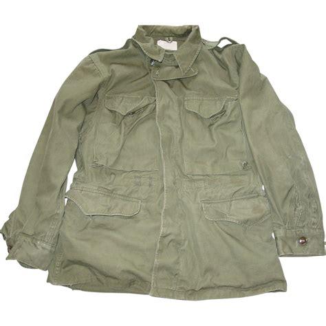 Jacket Korea m 1950 field jacket korean war small cold weather coat sold on ruby
