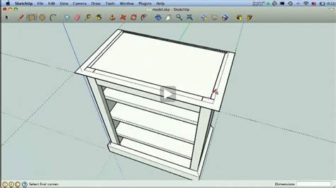 sketchup tutorial woodworking sketchup for woodworkers