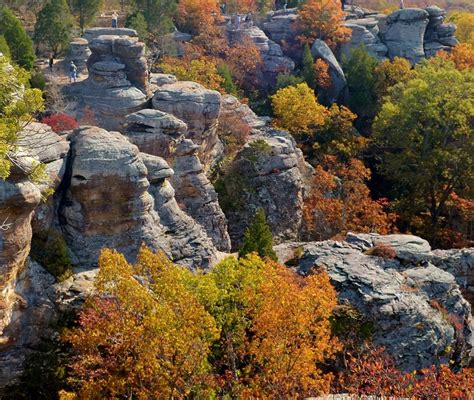 Garden Of The Gods Fall by Fall Colors Garden Of The Gods Shawnee National Forest