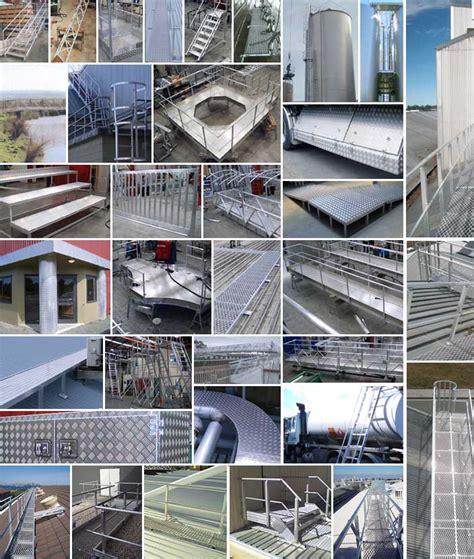 Aluminium Bridges Walkways Access Fabricated By Ullrich