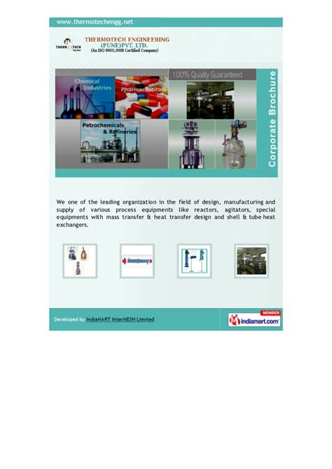 thermotech engineering pune pvt  pune process equipments