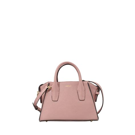 Mini Bag lyst dkny chelsea mini satchel bag in pink