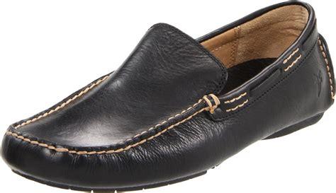 frye loafer frye mens west driver loafer in black for lyst