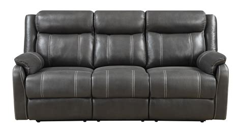 Klaussner Reclining Sofa Klaussner International Domino Us Casual Reclining Sofa With Drop Table Brick