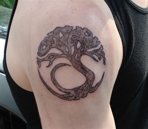 old tree tattoo designs 30 symbolic tree designs entertainmentmesh