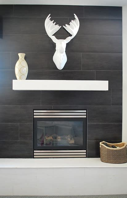 Wall Tile Fireplace by Seasonal Adjustments Tiled Fireplaces Waxman Ceramics