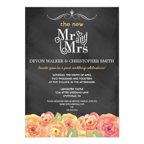 post wedding celebration invitations wording 357 post wedding invitations post wedding