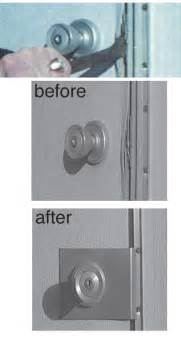 security for home theft stopper door security plate for mobile home