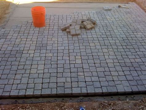 Cheapest Pavers For Patio My Diy Paver Patio On The Cheap Landscaping Lawn Care Diy Chatroom Diy Home