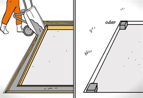 fundament für carport wie tief gew 228 chshaus selber aufbauen anleitung obi