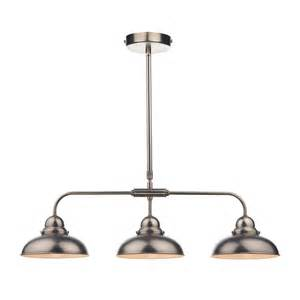triple pendant kitchen lights dynamo triple pendant antique chrome lighting direct