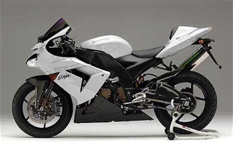 White Kawasaki by White Kawasaki Custom Modification Look