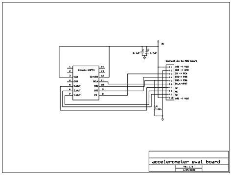 accelerometer circuit diagram accelerometer sensor circuit diagram 36 wiring diagram