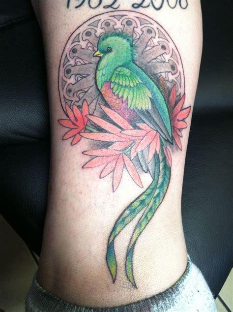 quetzal tattoo quetzal bird