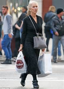 Did You Helen Mirren Carried Around 250000 At The Oscars by Helen Mirren Keeps It In All Black Lacy Ensemble In