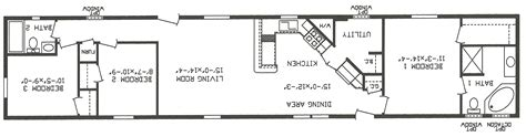 single wide trailer floor plans 3 bedroom 2 bath single wide mobile home floor plans
