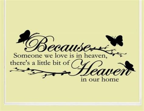 quot because someone we is in heaven there s bit