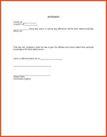 Notary Template by Doc 585430 Sle Notary Statements Notarized Letter