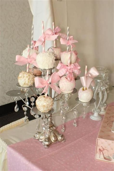 shabby chic vintage glam baby shower party ideas
