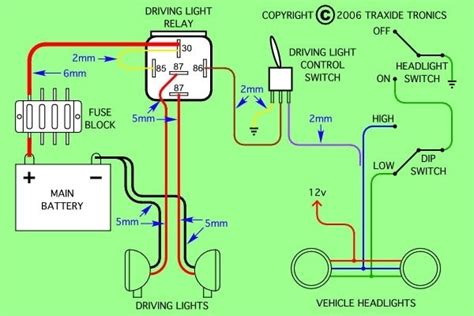 5 prong relay wiring diagram wiring diagram and