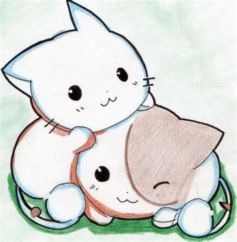 imagenes de dibujos kawaii a lapiz nekos by zoeyhanson on deviantart