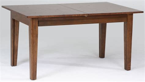 Rustic Extendable Dining Table Toluca 132 Quot Rustic Extendable Rectangular Leg Dining Table Tolra617l A America