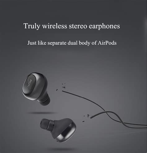 Jual Qcy Q29 Bluetooth 4 1 Headphones Wireless Earbuds W Charging Bo true wireless qcy q29 mini wireless bluetooth 4 1