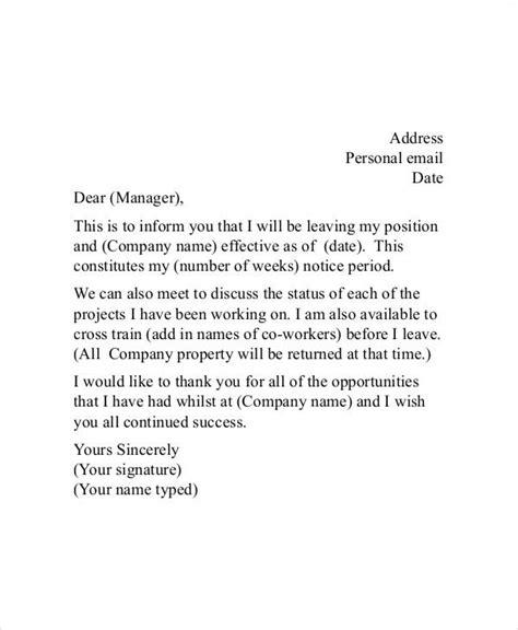 appreciative resignation letter word