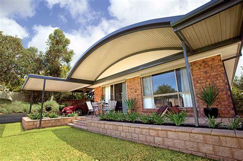 Curved Gable Roof Steel Verandahs Melbourne Verandah Builders Melbourne