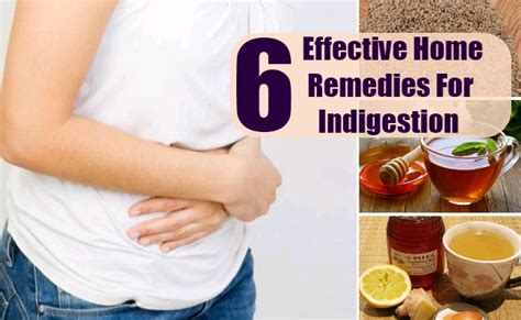 6 effective home remedies for indigestion