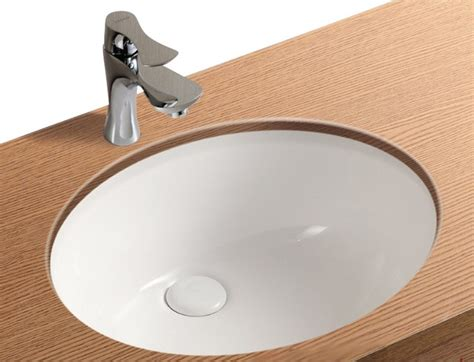 undermount bathroom sink with faucet holes oval white ceramic undermount bathroom sink no hole